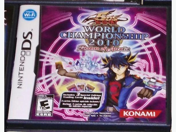 Yu-Gi-Oh World Championship 2010 Reverse Of Arcadia - NintendoDS