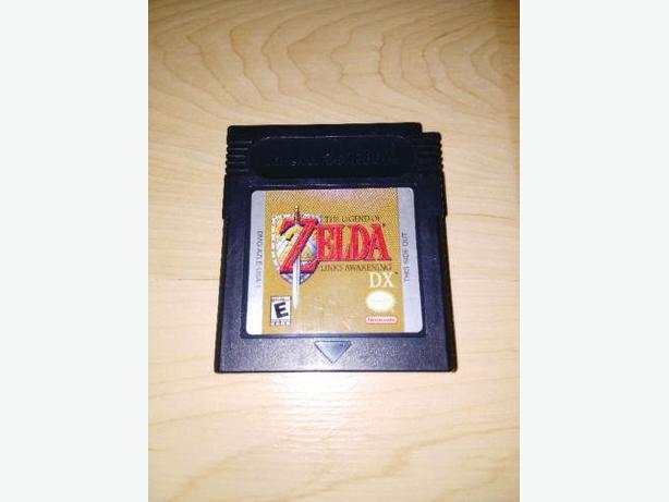 Legend Of Zelda Link's Awakening Dx For The Gameboy Color
