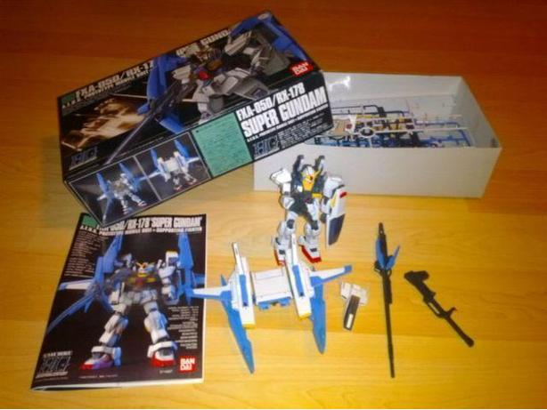 Super Gundam A.F.U.G Suit & Supporting Character Ban Dai Model