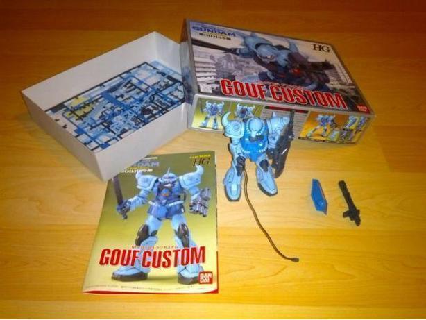Gouf Custom (Super Gundam) Ban Dai Model