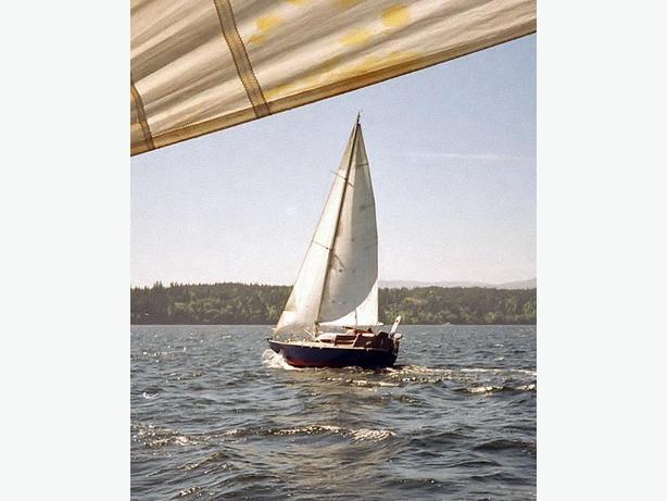 1991 36ft Brent Swain Steel Hull Sloop
