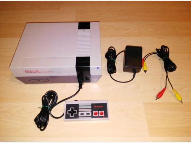 Classic Nintendo NES System - Completely Restored - NEW Pins