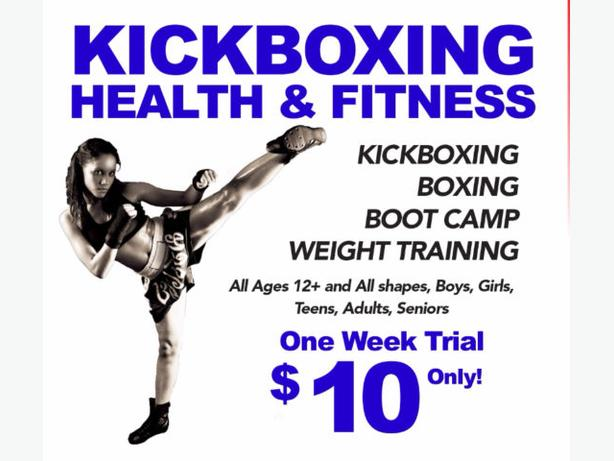 ~~~Kickboxing Boot Camp....FEEL THE BURN~~~