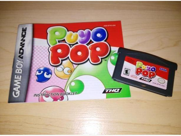 Puyo Pop For The Nintendo Gameboy Advance - Hard To Find