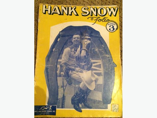1949 Vintage Hank Snow Music/Song Book