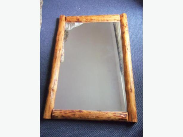 LOG FRAME MIRROR