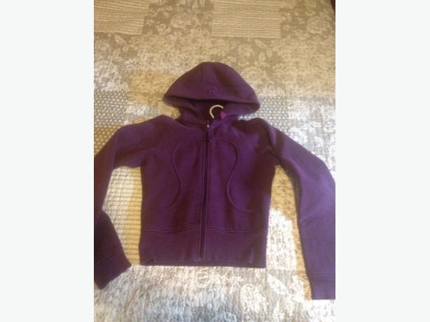Lululemon scuba hoodie size 4/6