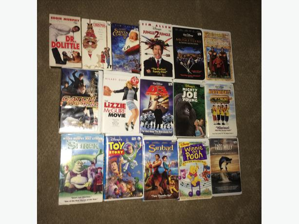16 VHS Kids Movies (Disney)