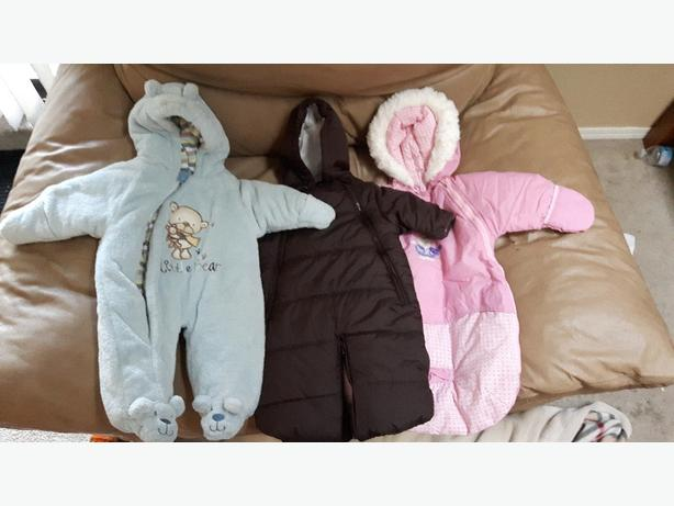 Baby 3-6 Month Winter Lot (6 items)