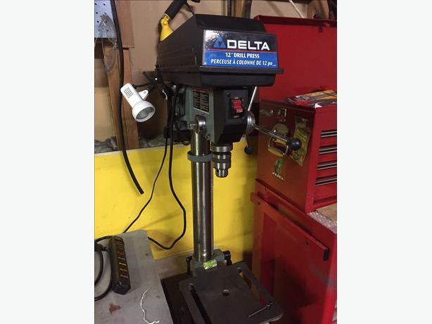 Drill press by delta 12 inch 11-990C