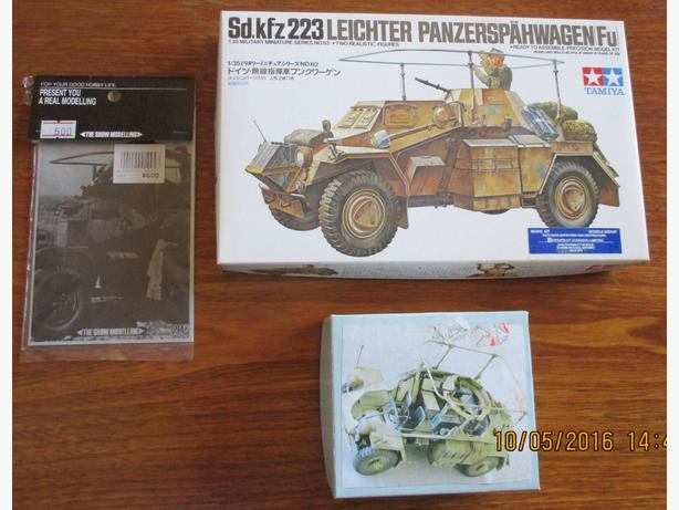 Sd.kfz223 panzersphawagen hobby model kit
