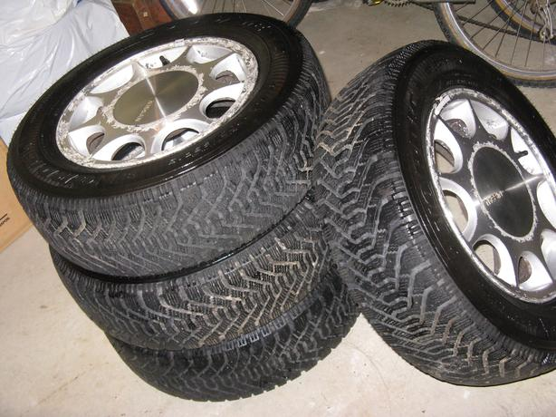 Goodyear Nordic M+S Winter Tires w/rims