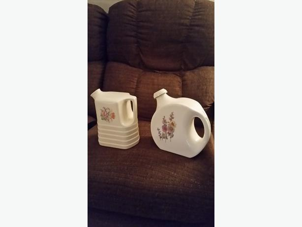 Decorative Ceramic Jugs (both for $20)