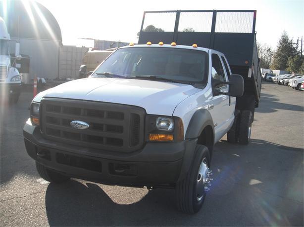 2005 Ford F-550 XL SuperCab Dump Box 2WD Dually Diesel