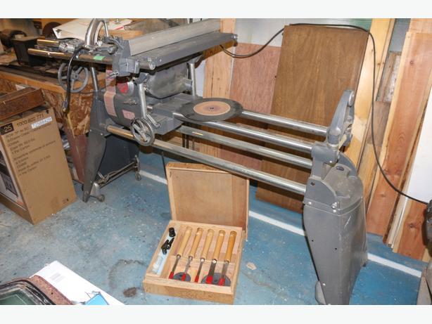 Shop smith 5 in one mark 5,  lathe, drill, bore,