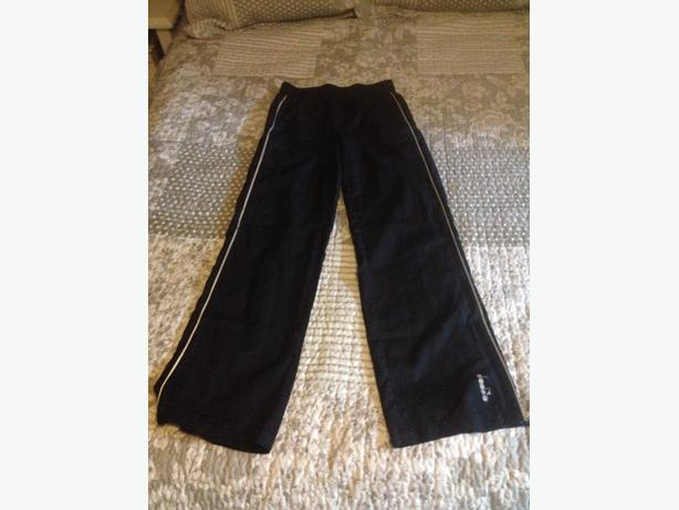 youth large Diadora track pants