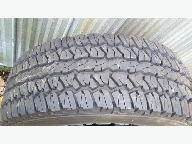 "Set of 16"" Firestone tires"