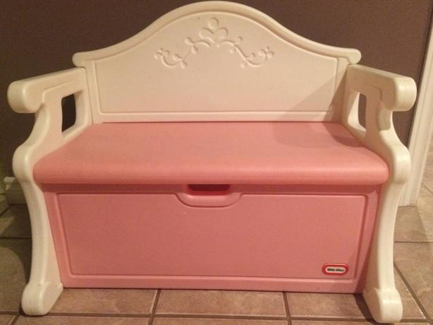 Bench Style Toy Box