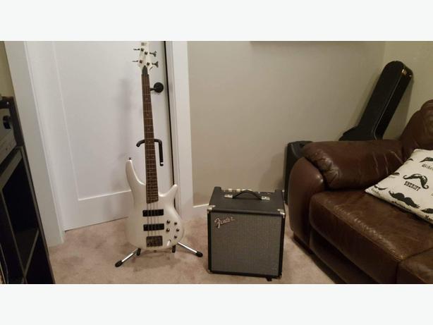 Ibanez  Bass & Fender Amp