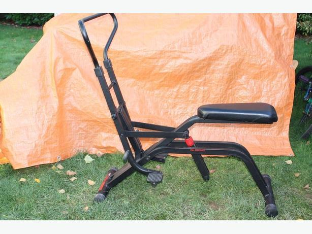 GLIDE MY WAY INTO SHAPE FITNESS EQUIPMENT LIKE NEW FOR $30