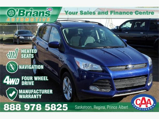 2016 Ford Escape SE - 4WD HTD STS MFG WARRANTY NAV
