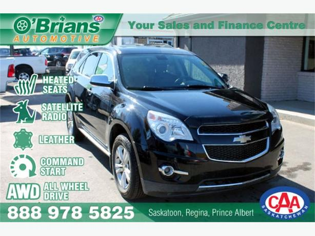 2010 Chevrolet Equinox LTZ - AWD LEATHER CMD STRT HTD SEATS
