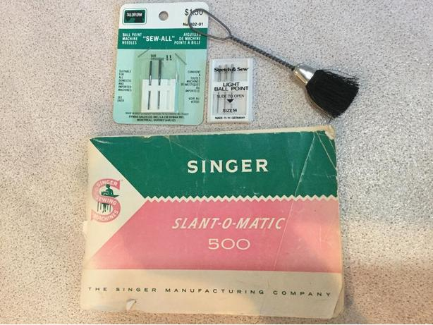 SINGER Accessories -  SLANT-O-MATIC 500 - Plus Booklet