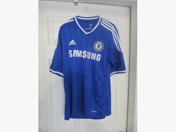 the latest 2594c 970f0 Chelsea Adidas Samsung Jersey. Men's L. Stitched. West ...
