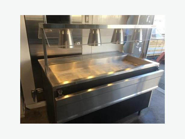 (COLD) 5/FT MOBILE  BUFFET/SALAD TABLE 110/VOLTS