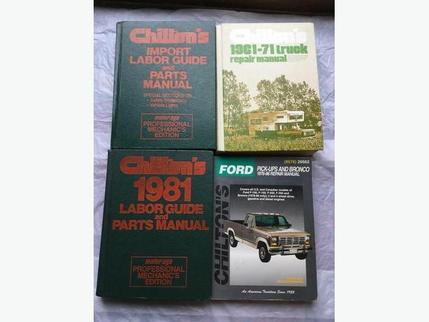 Reduced CHILTON'S MANUALS & MOTOR/AGE MECHANIC'S EDITION (1)