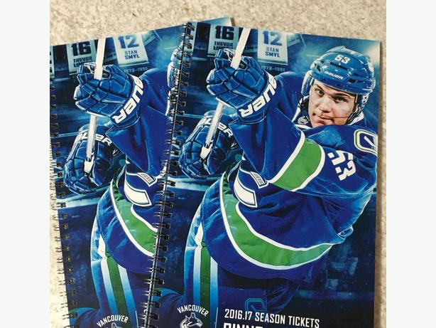 2 Vancouver Canucks Season Tickets - Below Face Value