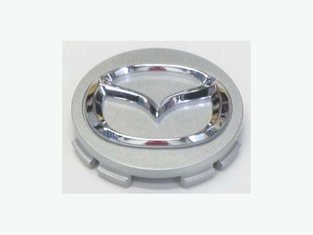 Mazda OEM Silver Center Caps for Alloy RIMs