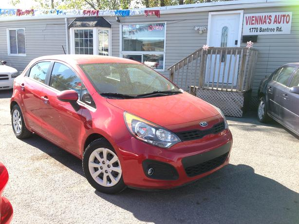 2013 Kia Rio - Heated seats, Bluetooth ready, XM Sirius Ready AUX/USB