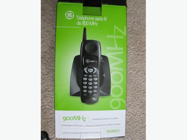 CORDLESS 900MHz phone