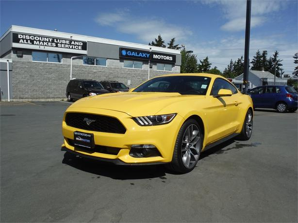 2016 Ford Mustang Ecoboost Premium Coupe - Bluetooth, Alloy
