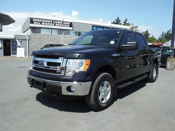 2014 Ford F-150 Lariat Supercrew 5.0L V8 Short Box - 4WD