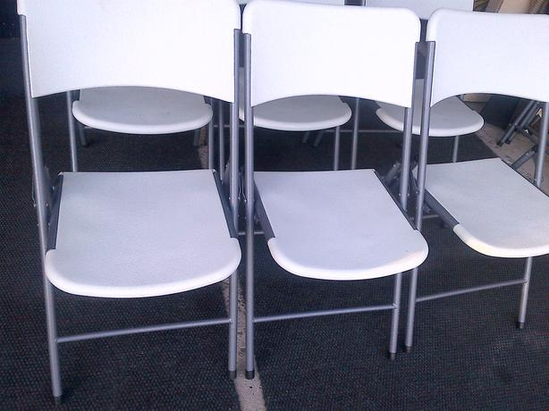 WHITE ENDURO STENO PVC WORK SHOP CLASSROOM VISITOR GUEST CHAIRS