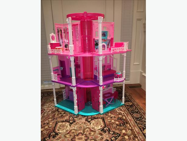 "Barbie Mansion/Camper ""Practically New"""