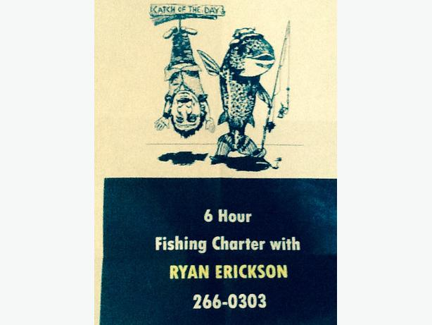 6 HOURS TOFINO FISHING CHARTER  GIFT CERTIFICATE