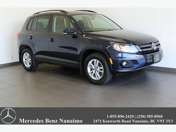 2014 Volkswagen Tiguan Tendline 6 Speed Automatic