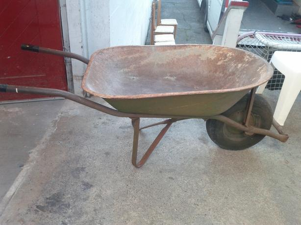 Wheelbarrow (The $32.00 Wheel Barrow is Sold)