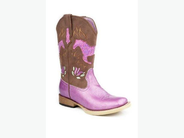 Girls Size 13 ROPER cowboy boots