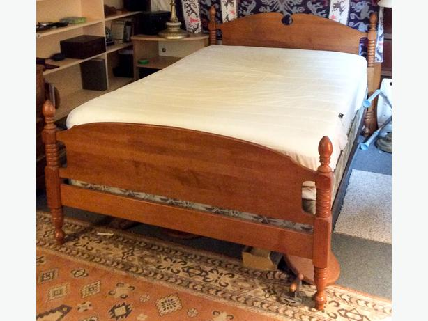 Solid Maple Double Bed