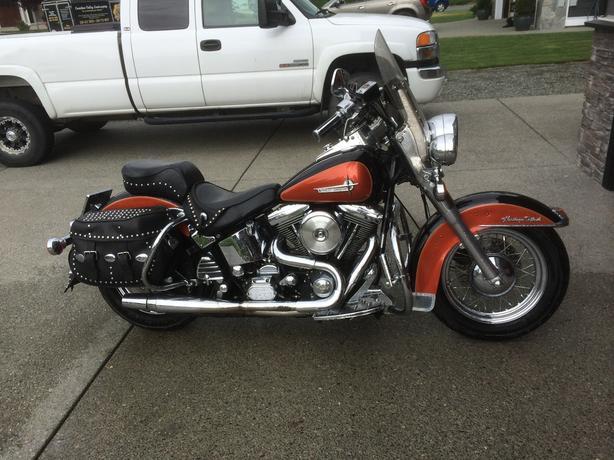 1992 Harley FLSTC Heritage Softtail