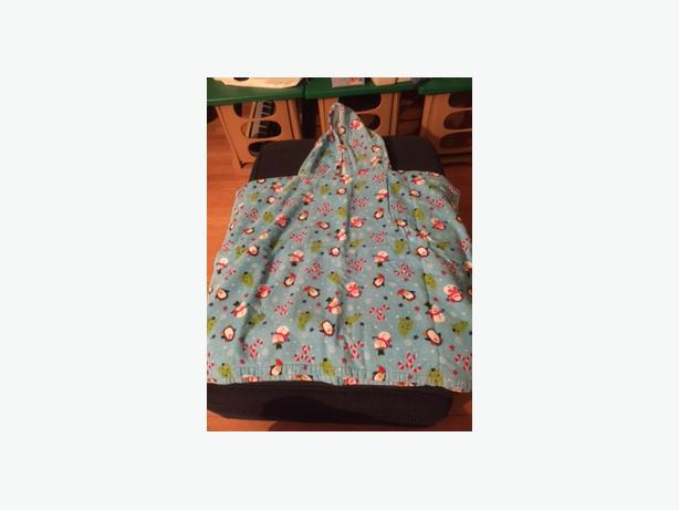 Winter/Christmas Toddler Hooded Towel