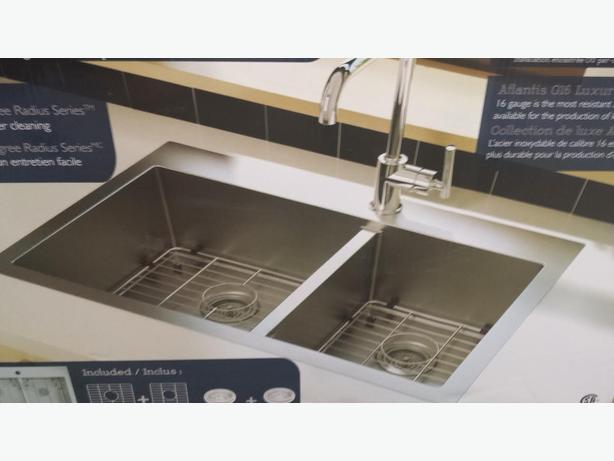 Artika Aqua Bay Double Kitchen Sink