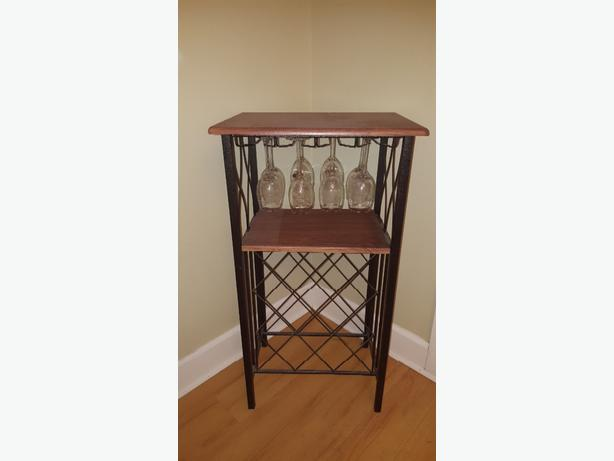 OBO Wine rack and bakers stand set