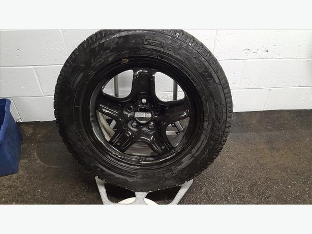 TOYO  225/65R 17 WINTER TIRES and GM STEEL RIMS