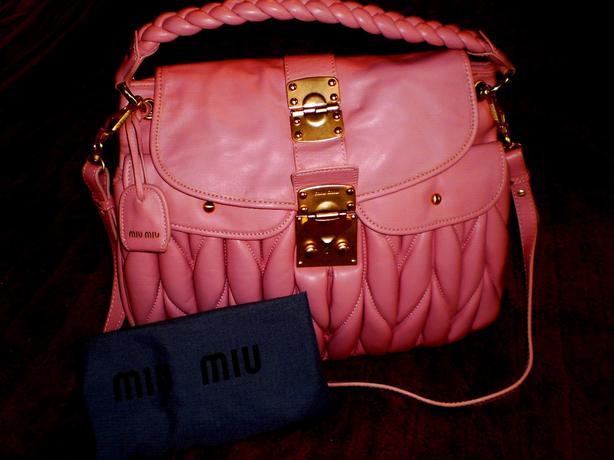 Beautiful Leather  Miu Miu Replica Bag