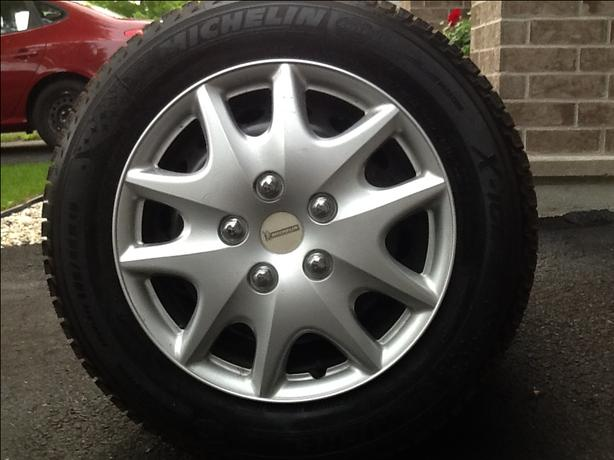 15 inch Michelin X Ice winter tires